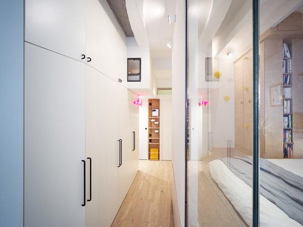 Contemporáneo Recibidor y pasillo by Atelier Pelpell