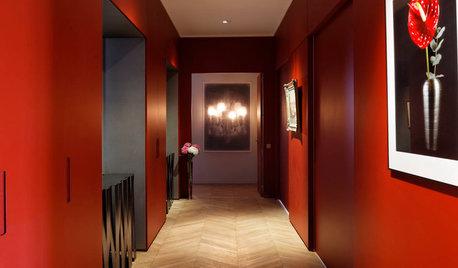廊下を無難なスペースにしない、楽しむカラーリングのすすめ