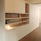 place de clichy paris 17 contemporary entry paris by atelier sylvie cahen. Black Bedroom Furniture Sets. Home Design Ideas