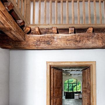 Rénovation d'une ferme au Pays Basque