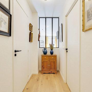 Rénovation et agencement couloir et pièce à vivre