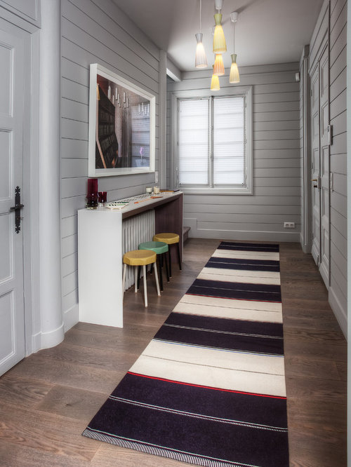 Couloir bord de mer photos et id es d co de couloirs - Idee decoration couloir interieur ...