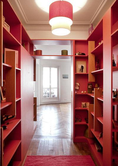 8 modi per trasformare il tuo corridoio in una libreria