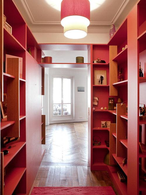 Couloir moderne photos et id es d co de couloirs - Decoration couloir sombre ...