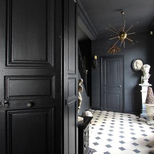 Exemple d'un couloir chic.