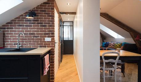 Avant/Après : Du grenier brut au superbe deux-pièces style loft