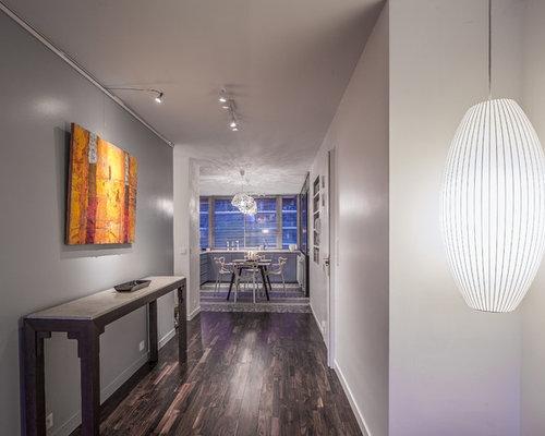 couloir la desserte photos et id es d co de couloirs. Black Bedroom Furniture Sets. Home Design Ideas