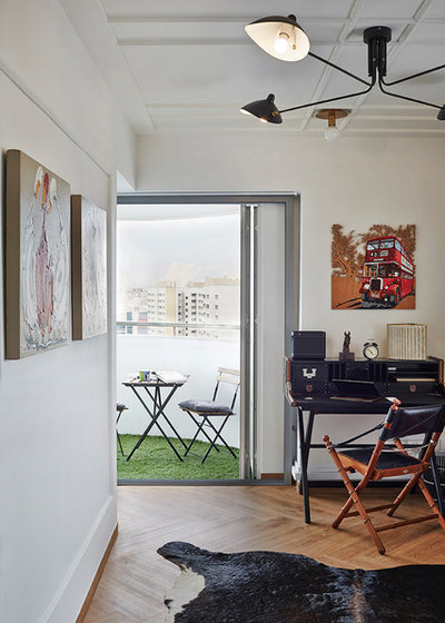 Eclectic Courtyard by Three-d Conceptwerke