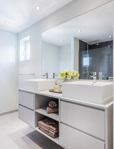 Contemporáneo Cuarto de baño by LID, Linadela Interior Design