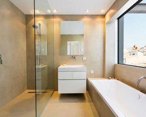 Salle de bain avec un lavabo posé Espagne : Photos et idées déco ...