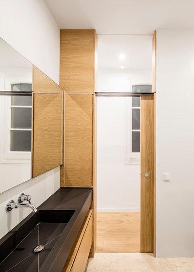 Nórdico Cuarto de baño by Adrian Elizalde Arquitectura