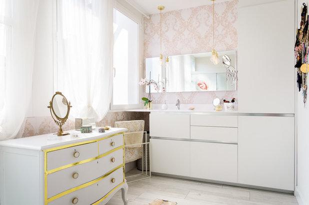 Romántico Cuarto de baño by Habitaka diseño y decoración