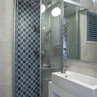 Salle de bain avec un sol en vinyl Espagne : Photos et idées déco de ...