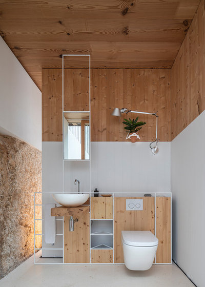 地中海 浴室 by Marià Castelló, Architecture