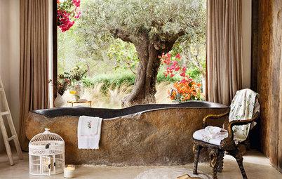 16 splendides salles de bains avec vue sur la nature