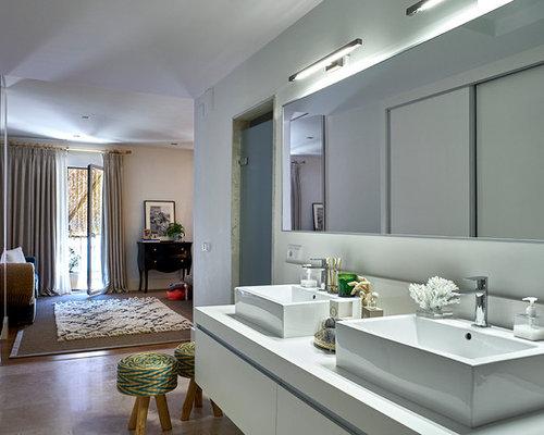 Fotos de cuartos de ba o dise os de cuartos de ba o con for Cuartos de bano modernos con ducha