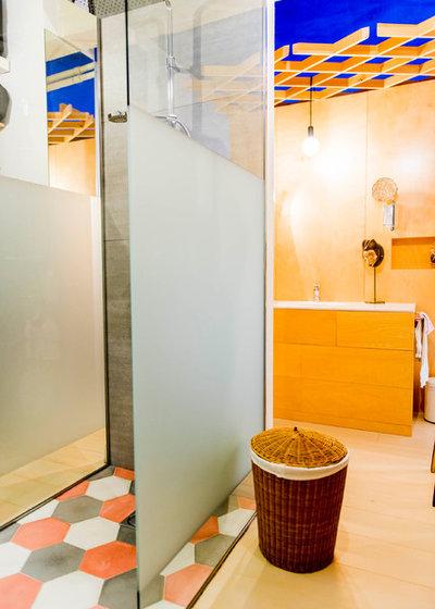 Ecléctico Cuarto de baño by Alfredo Arias photo
