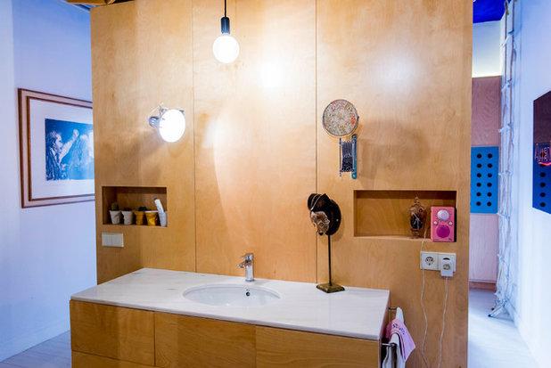 エクレクティック 浴室・バスルーム by Alfredo Arias photo