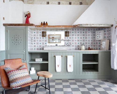 Ideas para cuartos de baño   Fotos de cuartos de baño con puertas de ...