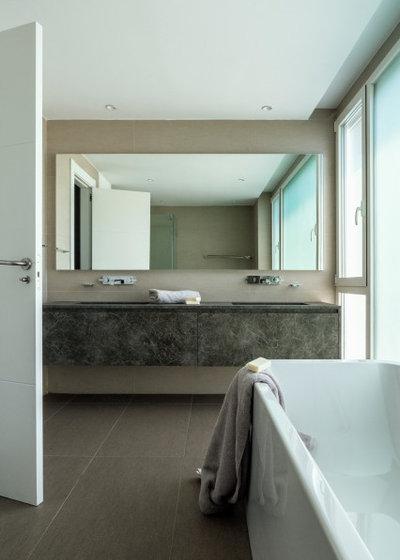 Contemporáneo Cuarto de baño by Sánchez + Sánchez Proyectos
