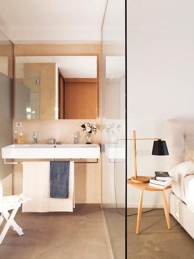 Skandinavisch Badezimmer by Cotacero Taller Arquitectura