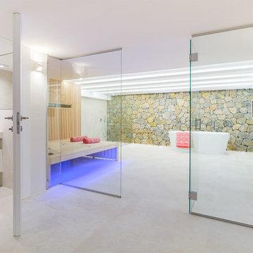 Contemporáneo Cuarto De Baño