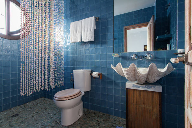 fabulous beautiful affordable simple costero cuarto de bao costero cuarto de bao with pintar sobre azulejos - Azulejos Cuarto De Bao
