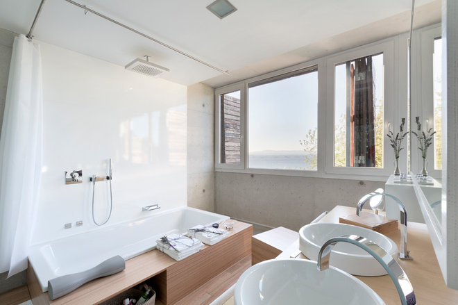 Contemporary Bathroom by Your Architect London Ltd