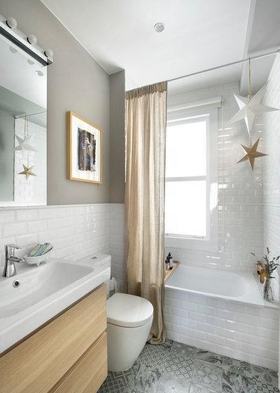 Eclectic Bathroom Ecléctico Cuarto De Baño