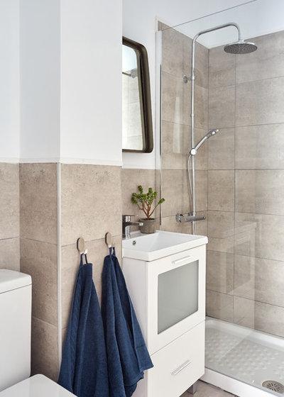 Contemporáneo Cuarto de baño by KELE voy a hacer
