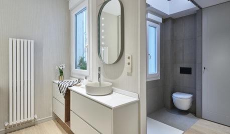 Descubre qué 4 suelos instalarían los profesionales en el baño