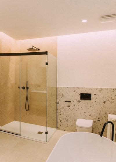 Cuarto de baño by Quefalamaria · diseño y gestión de espacios