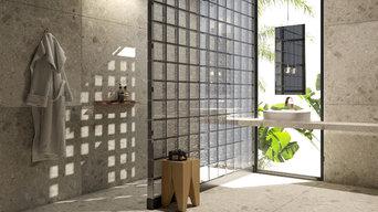 Glass Blocks - Baños con Bloques de Vidrio