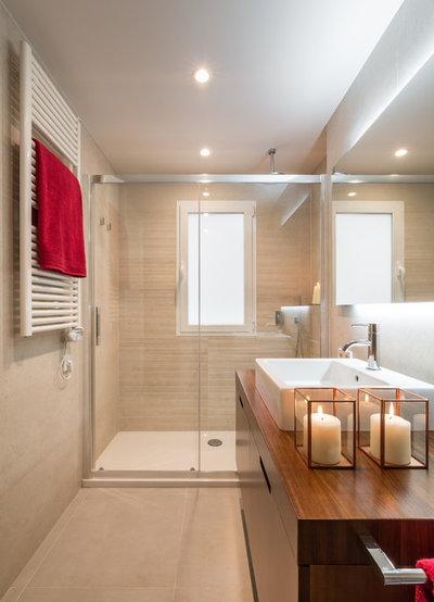 Contemporáneo Cuarto de baño by Laura Yerpes Estudio de Interiorismo