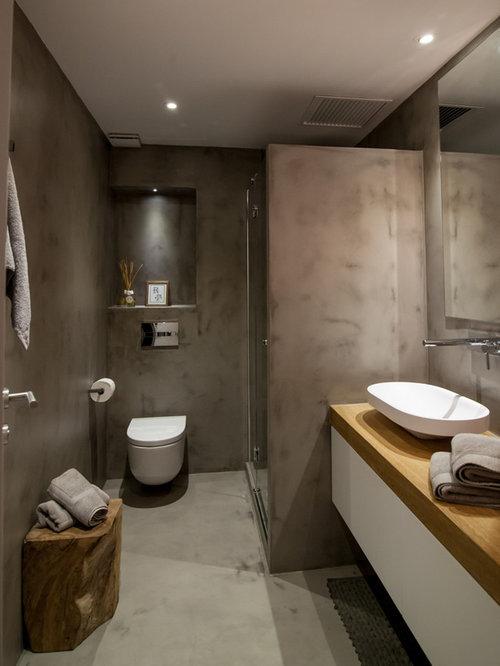 Fotos de ba os dise os de ba os marrones con ducha esquinera - Diseno de cuartos de bano con ducha ...