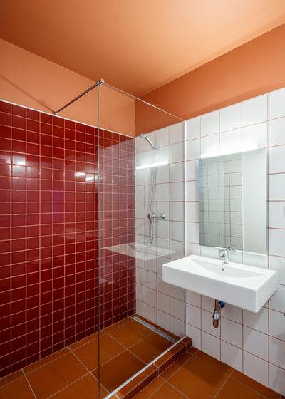 Mediterráneo Cuarto de baño by CRÜ studio