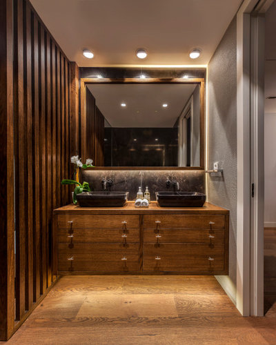 Contemporary Bathroom by MARISA GALLO