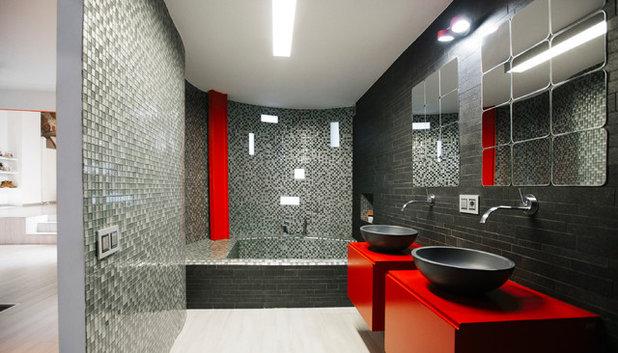 Contemporáneo Cuarto de baño by estudio fandi
