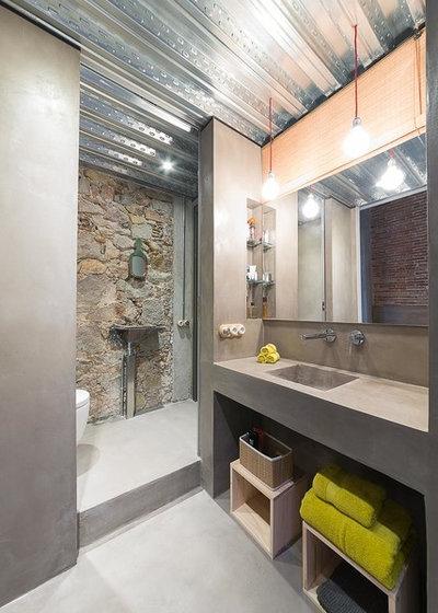Industrial Cuarto de baño by FFWD Arquitectes