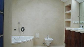 microcemento en cuartos de baño
