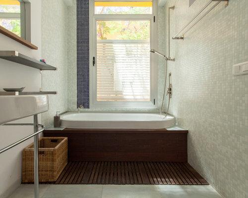 Fotos de cuartos de ba o dise os de cuartos de ba o - Banos con suelo de madera ...