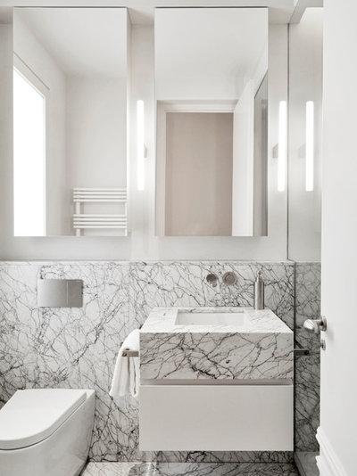 Contemporary Bathroom by Paula Rosales (estudio more-co)