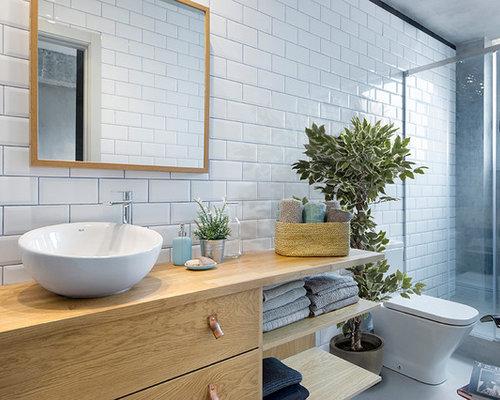 Ideas para cuartos de baño   Fotos de cuartos de baño con baldosas y ...