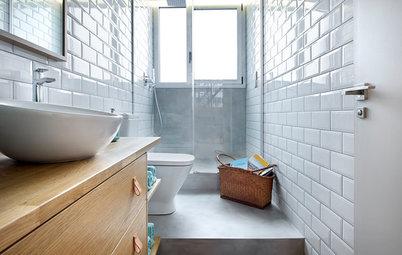 Cómo conseguir que un baño pequeño sea cómodo y funcional