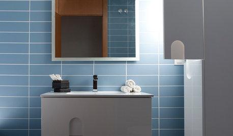 7 baños azules para todos los gustos