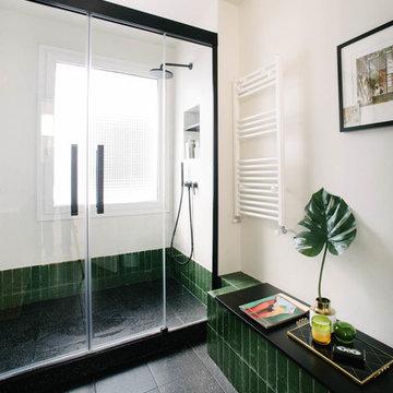 Reforma baños en vivienda zona Chamberi, Madrid