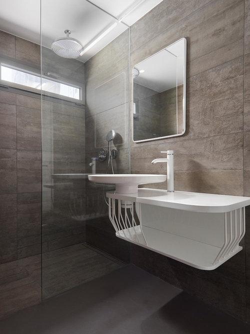 Fotos de ba os dise os de ba os modernos for Suelos para cuartos de bano