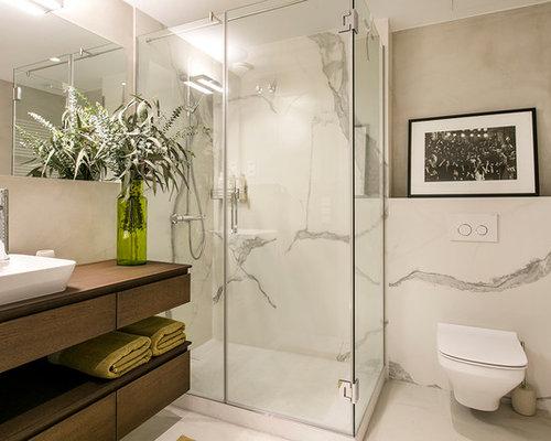 Fotos de ba os dise os de ba os modernos beige for Fotos de cuartos de bano con ducha modernos