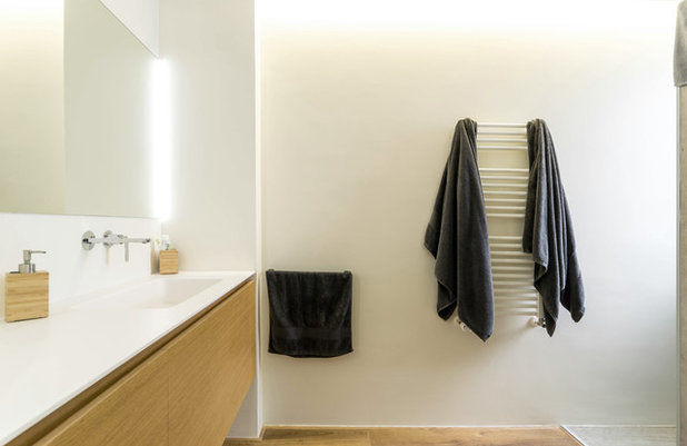 Contemporáneo Cuarto de baño by dCMarquitectura