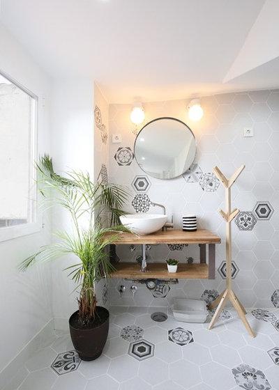 Nórdico Cuarto de baño by GMTmas  Architecture&Design